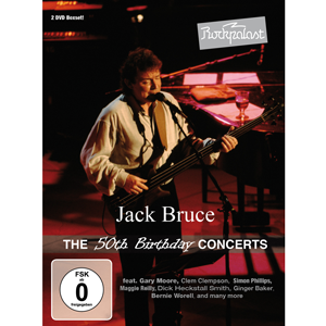 Cover JackBruce - The 50th Birthday Concerts 2DVD